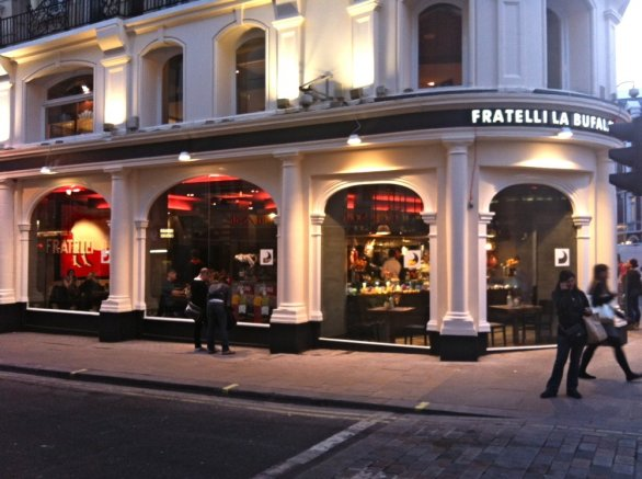 Eating in London: The authentic Neapolitan pizza of Fratelli La Bufala