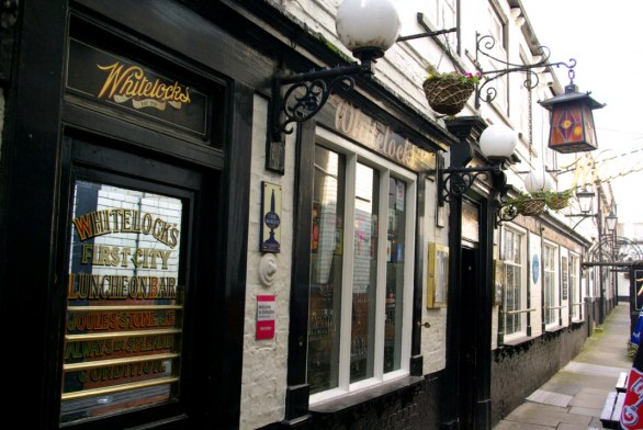 Legendary pub, the Whitelock's in Leeds