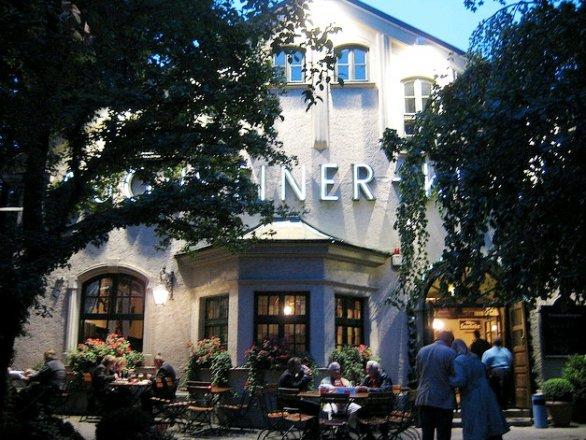 Beer in Monaco of Bavaria, the Augustiner-Keller
