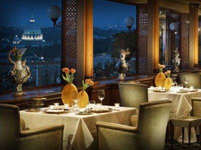 Restaurant La Pergola in Rome