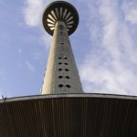 Eating at 170 meters high, on the Tallinn TV Tower