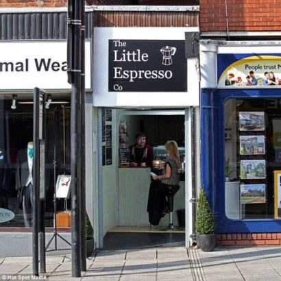 The Little Express Co, the world's smallest bar