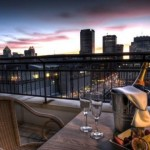 Best terraces and landscaped gardens of the hotels in Old Montreal