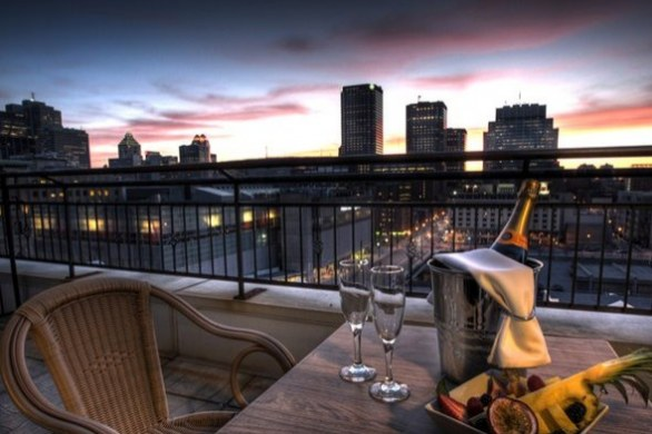 Best Terraces And Landscaped Gardens Of The Hotels In Old Montreal Go Restaurants