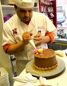 made cake