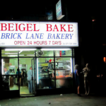 Street food to try in London, the bagel