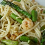 Vegetarian Recipe: Pasta with grilled asparagus