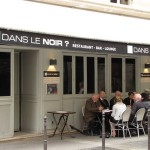Dans le Noir in Paris, the restaurant in the dark