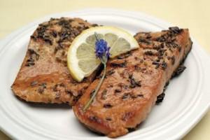 lavender salmon