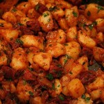 Potatoes with Chorizo