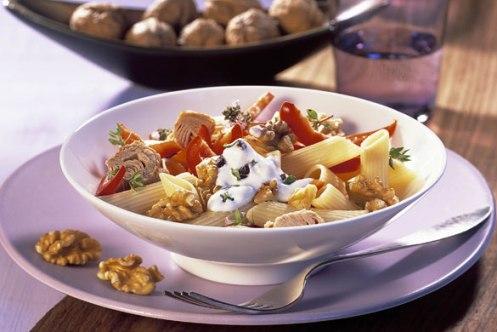 sour pasta salad