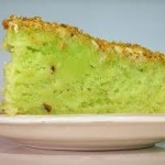 Recipe for pistachio cake