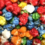 Make colored popcorn