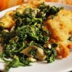 Chicken with Spinach and Mozzarella