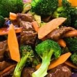 Lightweight Braised Beef with broccoli
