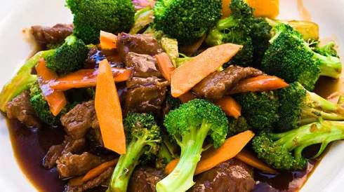 Braised Beef with broccoli