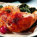Chicken breasts with brown sugar