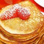 Strawberry and banana Hotcakes