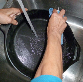 wash pan