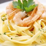 Pasta with Lemon Shrimp