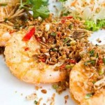 Thai Shrimp with coconut and curry
