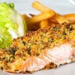 Walnut Crusted Salmon