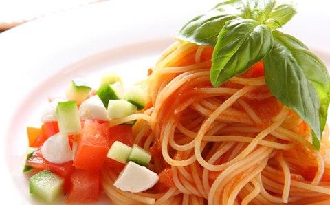capellini with tomato