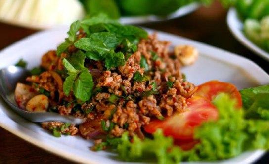 thai larb moo