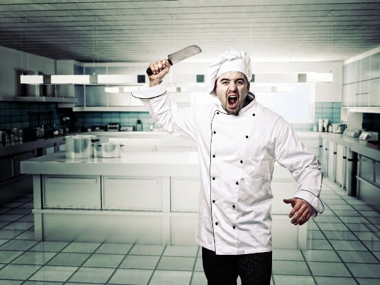 5 things that (personally) can not be tolerated in a cook